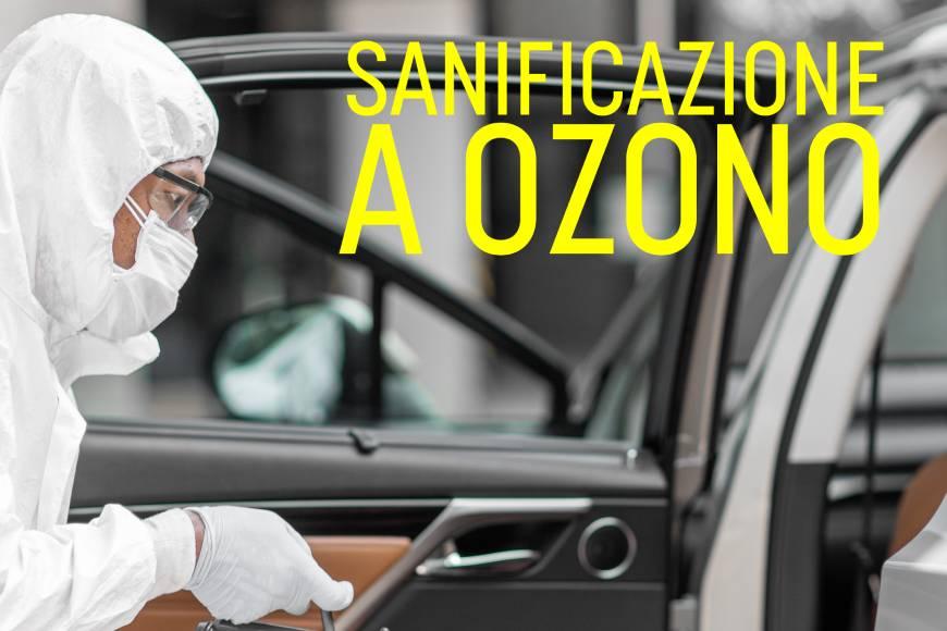 Sanificazione auto ozono: viaggiare sicuri ai tempi del Covid